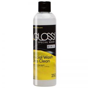 beGloss Special Wash PVC/Vinyl (ビーグロス スペシャル・ウォッシュ ビニール (PVC/エナメル)) 250ml